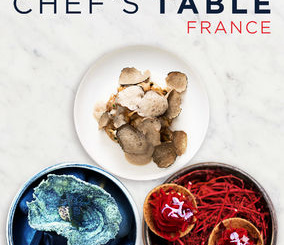 """Pictured above is the """"Chef's Table: France"""" poster. The Netflix series exposed viewers to the story behind famous French chefs. Courtesy Upflix."""