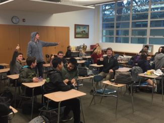 The Mira Costa Water Conservation club hosts a meeting at lunch in room 46. The members prepare to participate in Mulch Day.  Photo courtesy  of MCHS Water Conservation Club Instagram.