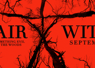 The official promotional banner for 'Blair Witch.' Distributor Lionsgate released promotional materials shortly before the film's release. Courtesy popwrapped.com