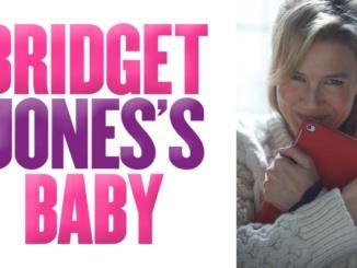 """""""Bridget Jones's Baby"""" poster. Bridget Jones holds an IPAD in the poster. Courtesy youtube.com"""
