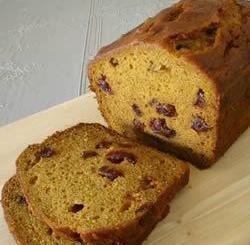 """""""Delicious Pumpkin Bread"""". Courtesy allrecipes.com."""