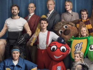 """Pictured above is the promotional poster for the Netflix original film """"Mascots."""" The comedy film was created to parody the lives of sports mascots. Courtesy USA Today."""