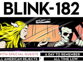 """""""A Day to Remember"""" Tour Poster. Poster also features special guests A Day to Remember, All American Rejects, and All Time Low. Courtesy lambgoat.com."""