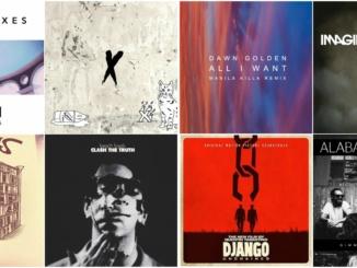 Playlist Track Album Artwork Collage. Photo Courtesy soundcloud.com.