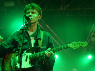 """King Krule played a set that lasted about 45 minutes and played one of hits, """"Baby Blue""""."""