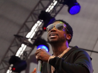 Gucci Mane arrived to the Beach Goth stage Sunday afternoon, after 2 years since his last performance in Santa Ana.