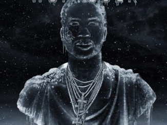 "Gucci Mane's ""Woptober"" Album Artwork. Courtesy thefader.com.  This release was Gucci's first since being let out of prison, but he certainly lost no talent.  He blended new trap beats with story-like lyrics."