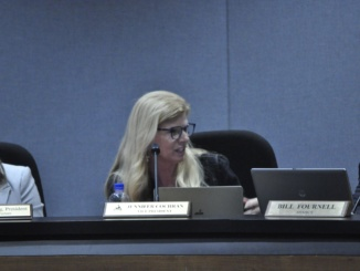 The Manhattan Beach Unified School District Board of Trustees held a 90 minute workshop on Sept. 29 regarding the Brown Act. Featured is MBUSD Board Member Jennifer Cochran.