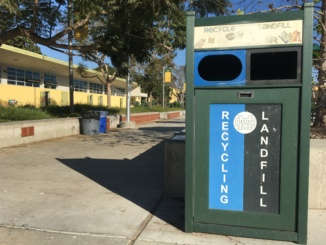 Costa has made great strides in creating a eco-friendly campus. Costa is one of the few schools in the South Bay that offer these trash receptacles at school.