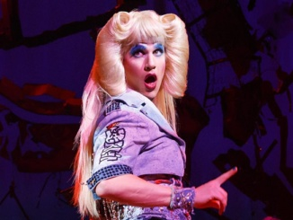 """Darren Criss as """"Hedwig."""" The show ran at the Pantages from November 1 to 27. Courtesy NewYork.com."""