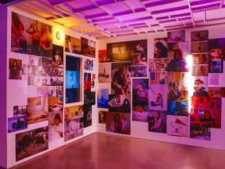 """#Girlgaze"" exhibit. Courtesy timeout.com."