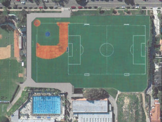 The MBX Foundation and district's plan for Meadows field is to create one turf field that all sports and extracurriculars can use. Reconstruction began on Nov. 17. (Reproduced with the permission of Gary Wayland)