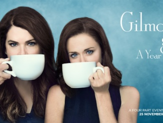 """Pictured above is the """"Gilmore Girls: A Year in the Life"""" Promo Poster.  The Netflix mini series  is a sequel to the highly famous Gilmore Girls. Courtesy Betches."""