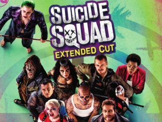 """Suicide Squad""'s ensemble cast is presented together.  The image is a part of the Extended Cut"" Promo Poster. Courtesy Forbes.com."