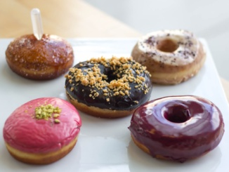 Blue Star Donut selection. Courtesy of Serious Eats.