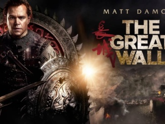 "Pictured above is the promotional poster for ""The Great Wall"" featuring Matt Damon. The film was released on February, 17 2017. Photo courtesy of Youtube."