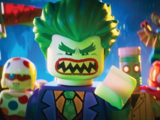 """Pictured above is the promotional poster for """"The Lego Batman Movie."""" The movie was released in theaters nationwide on February 10, 2017."""