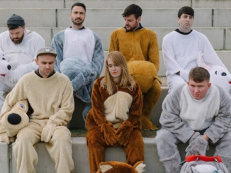 """Pictured above is the band Los Campesinos during a photoshoot in promotion of their album """"Sick Scenes."""" This is the Welsh rock band's sixth studio album to receive critical acclaim. Photo courtesy of Pitchfork Magazine."""
