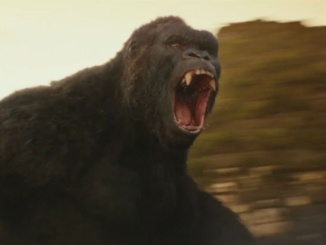 "Shown above is a still of King Kong from ""Kong: Skull Island"" that was released on March 10. The King Kong character has been included in various media since 1933. Photo courtesy of Kosgaard's Commentary."