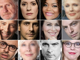 Many popular actors and actresses spoke at the Getty Center's annual Selected Shorts which was on April 1st through the 2nd. Pictured above are Top row: René Auberjonois, Paget Brewster, Yvette Nicole Brown, Sharon Gless - Middle row: Tony Hale, Michael Imperioli, Jane Kaczmarek, Justin Kirk - Bottom row: Joe Mande, Christina Pickles, Liev Schreiber, Kirsten Vangsness, who all spoke at this year's Selected Shorts. Photo courtesy of getty.edu.