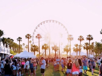 Pictured above are the expansive Coachella festival grounds featuring a large Ferris wheel. The Coachella Music and Arts Festival was founded in 1999. Photo Courtesy of The Odyssey Online.