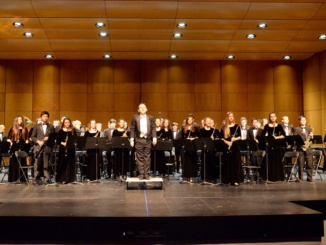 The Band and Orchestra perform their pieces on Apr 4 at Redondo Union High School. They were judged by four retired band and orchestra directors, Harry Leff, Mitch Schuster, Peter Fournier and Robert Presler.