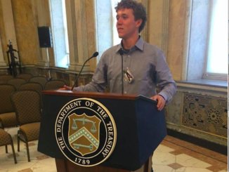 On May 16th, Heinz visits the Department of the Treasury in the White House to present their solutions and new technologies to the department. Heintz is also working to build his nonprofit organization by networking with powerful people in Washington D.C.