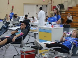 ASB hosts their third blood drive of the school year on June 7th in the Fisher Gymnasium. They worked with the University of California Los Angeles' Blood and Platelet Center to collect blood from students and staff.