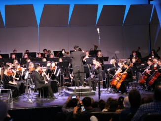 "The Mira Costa Symphony Orchestra performs at the annual ""Pops"" concert. The Pops concert consisted of modern day pop hits such as songs by Bruno Mars and Adele."