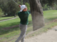 2. Majors hits his ball out of the sand pocket after a rough shot. Major was named the ocean league player of the year for boys golf this year which honors the player who is most dedicated, improved, and is an overall high achiever for the sport.