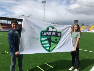Mira Costa seniors Liam Cook and Julia Nuttal-Smith made the trip to Sweden this summer to assist refugees. They took part in hosting a soccer training camp for the Darfur United men's soccer team.