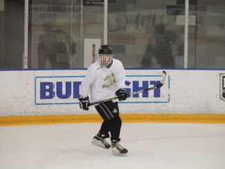 Mike Gallagher pursues his dream of hockey and does so by leaving Costa to attend the Phillips Academy. Last year, Gallagher participated on the Mira Costa hockey team.