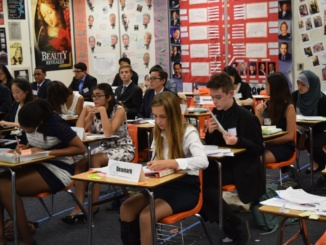 Mira Costa students debate at Cerritos High School for a Model United Nations debate. They debated on topics regarding the UN.