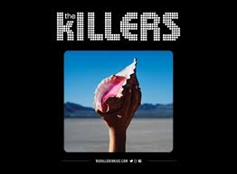"""Appropriately named """"Wonderful Wonderful,"""" the Killer's redefine their sound with their latest album, ditching their previous grungy, American rock style to evolve into pop-rock in attempts to keep up with the ever-changing modern music style. Photo courtesy of the garden.com"""