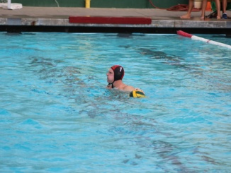 In a previous game this year, senior goalie Paul Matt looks holds the ball and looks for an outlet pass. On Saturday November 4th, Mira Costa boys Water Polo was defeated by Agoura High School, 9-6  in the CIF quarterfinals.