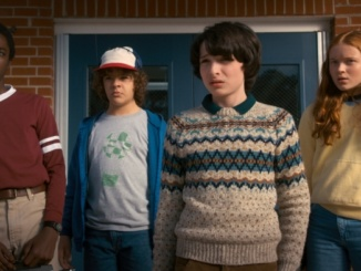 """""""Stranger Things 2"""" continues the plot developed in Season 1 and introduces new characters including Max, played by actress Sadie Sink (right). The season impresses with outstanding effects and performances. Courtesy of Variety."""