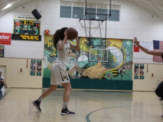 A Costa player looks for the open player in a previous game. Mira Costa's girls basketball team defeated Inglewood by a score of 77-32.