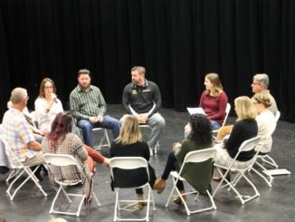 The Mira Costa Social Emotional Wellness Committee hosted a teacher fishbowl to discuss teachers' stress. They held a student fishbowl last year to discuss the students' stresses.