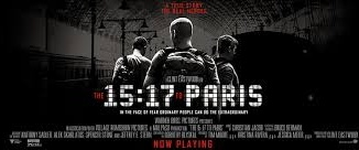 """The 15:17 to Paris"" excels in its incredible message and skillfully dynamic cinematography. However, the film is negatively impacted due to its weak supporting cast and lackluster writing.  (Photo courtesy of Facebook.com)"