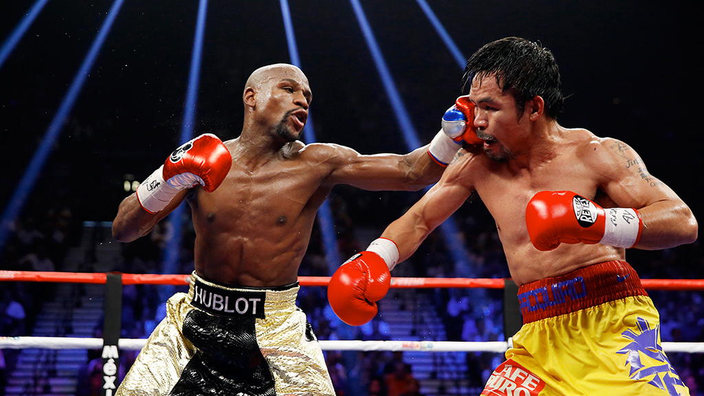 Image result for mayweather pacquiao hd